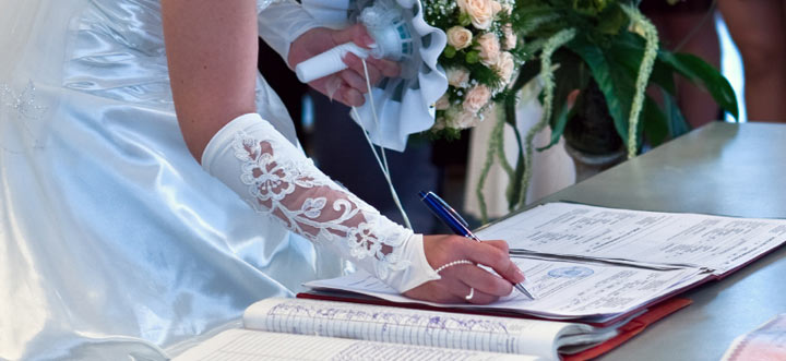 Essential  Documents for your Wedding