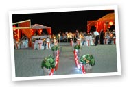 ecorating  your ceremony or reception venue